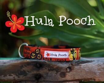"Halloween Dog Collar ""Sleepy Hallow"" - Small, Medium, Large Adjustable // FREE SHIPPING"
