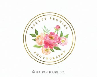 hair salon logo photography logo florist logo premade logo event planner logo wedding logo boutique logo make up logo beauty logo watermark
