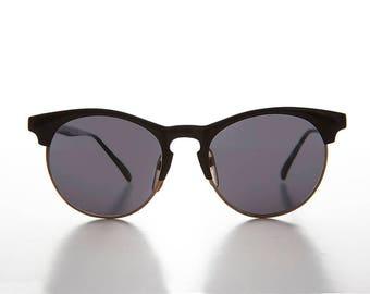 Horn Rim Hipster Preppy Style Malcom X Sunglass - Denny
