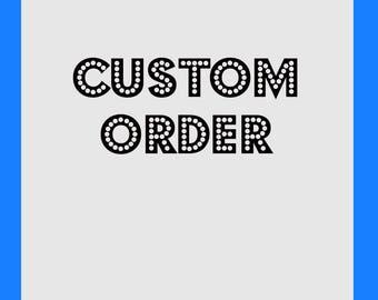 custom order set of 4 dental patent art prints PSD