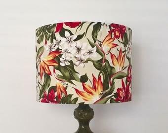 Tropical Floral Lampshade | Lamp Shade | Handmade in Australia
