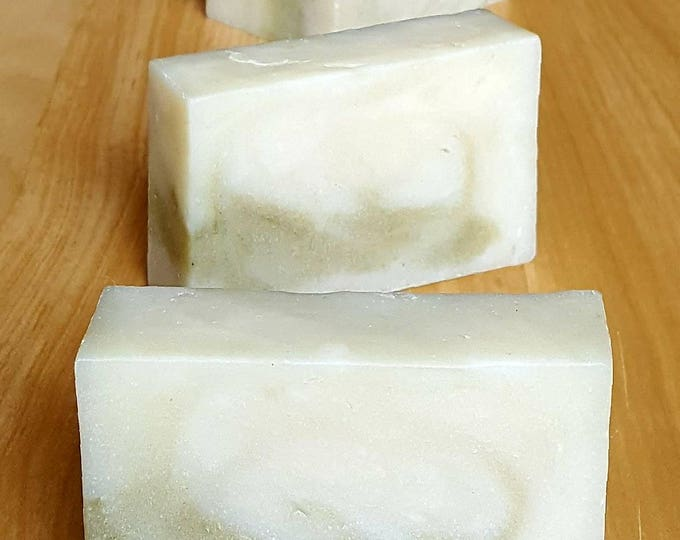 "Kudzu Root Infused Soap with Bentonite and French Green Clays ""Karma Chameleon"""
