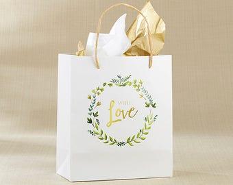 Wedding Welcome Bag, With Love Botanical Wedding Welcome Bag, Wedding Welcome Gifts