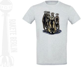 T-Shirt 'Meerkat'