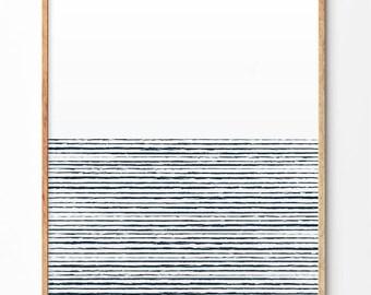 Lines art print, Abstract art print, Modern poster, Wall print, Wall art, Lines art, Minimalist art print, Home decor, Office decor, A3