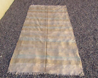 "Vintage Moroccan Sabra Cactus Silk  Kilim Rug, ""Tara"", Purple Rug, Moroccan Rug, Boho Rug, Bohemian, Home Decor, Textiles"