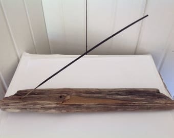 Driftwood incense holder Incense holders Incense burners Air fresheners Aromatherapy Driftwood art Home fragrances Incense Driftwood decor