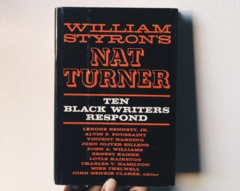 Vintage Copy of Nat Turner: Ten Black Writers Respond
