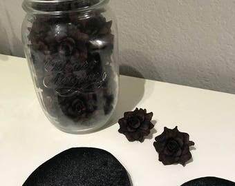 DIY Brown Roses