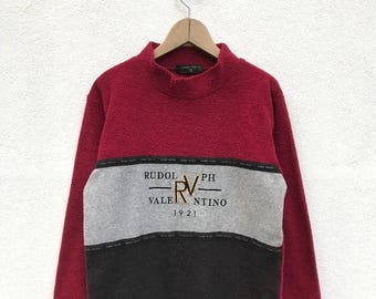 20% OFF Vintage Rudolph Valentino 1921 Pullover / Rudolph Valentino Sweater / Hip Hop / Casual Clothing / Designer