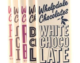 Vegan chocolate bar variety pack