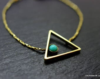 Bracelet graphic triangle