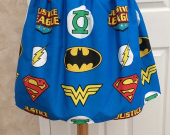Various Sizes Ladies and Teens Super Heroes Skirt