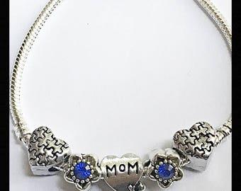 Austism Mom Beads Bracelet On Sale
