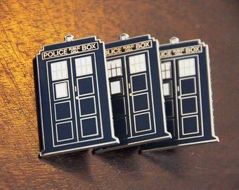 Geeky Box Lapel pin.