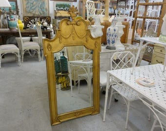 Fabulous Italian Gilt Regency Mirror