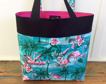 Flamingo tote ONLY ONE