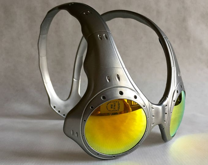 Oakley Overthetop Fire Iridium FMJ+ Vintage Sunglasses New Old Stock including Softpouch