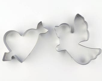 Cupid Cookie Cutters/Love Cookie Molds/Angel Biscuit Cutter/Dough Cutters/Fondant Tools/Baking Supply/Theme Party
