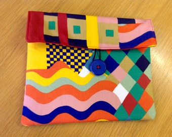 SAMPLE SALE; IPad Air case, Liberty fabric ipad case, designer fabric case.