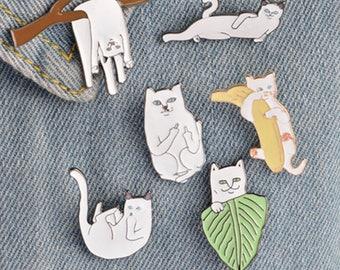 Sale Bundle F U Cat 6 Enamel Pin Set