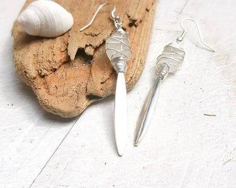 Beach Goddess Seaglass Earrings