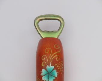 funny vintage wooden penis bottle opener beautifully painted, collectible bottle opener, Vintage bottle opener, wooden bottle opener!
