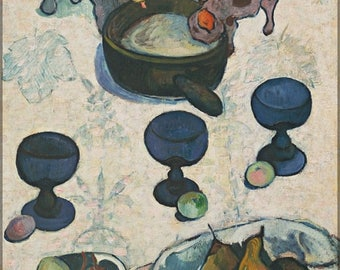 20% Off Sale - Poster, Many Sizes Available; Still Life With Three Puppies By Paul Gauguin