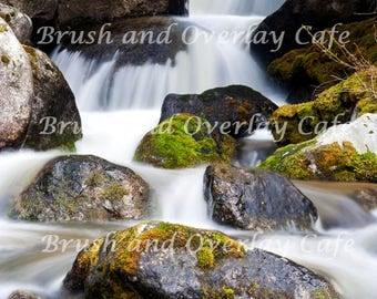 Waterfall Digital Background/Digital Backdrop