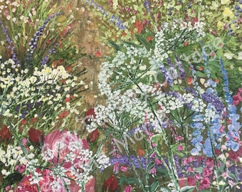 Cow Parsley Cottage - Giclee Print