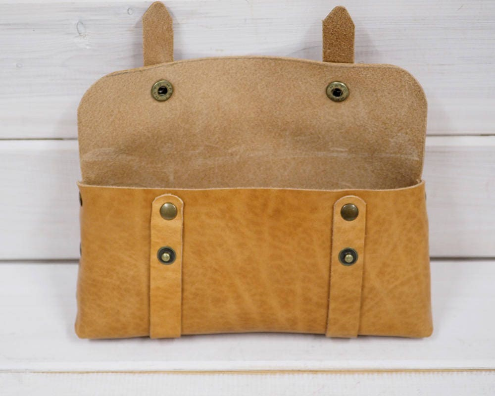 f702ced769 Leather cosmetic bag