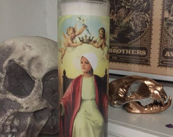 St Offred Handmaid's Tale Prayer Candle