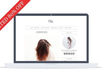 80% OFF - Fixie - Wordpress Theme - Premade - Self Hosted - Wordpress Blog Theme - Responsive
