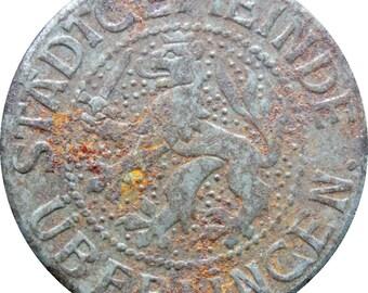 1917 10 Pfennig Germany Notgeld Stadtgemeinde Überlingen Coin