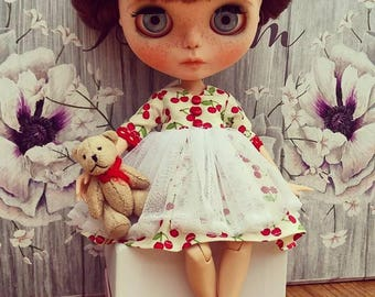 Cherry Dress for Blythe