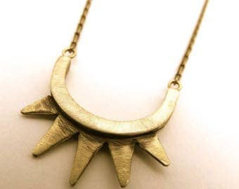necklace pikes in brass