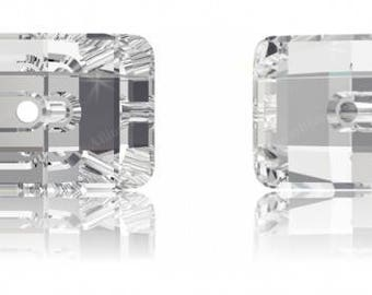 Swarovski 3093 - Rectangle Crystal Button