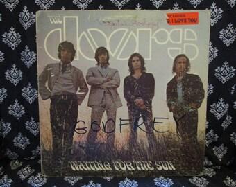 The Doors Waiting For the Sun Album Record LP