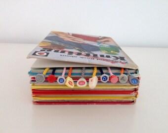 Custom Bookmark, Gift For Knitter, Gift For Book Nerd, Unusual Unique Book Mark, Alternative Bookworm, Page Marker, Needle Gauge, Book Geek