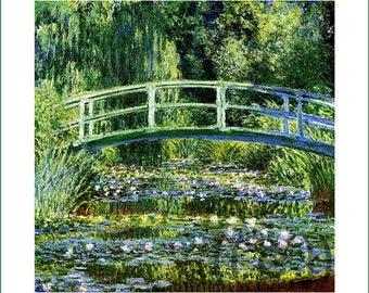 fabric panel - Claude Monet (17)