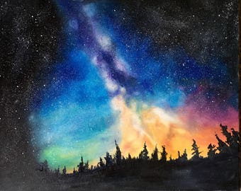 Milky Way Oil Painting