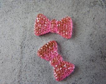 Knots roses decorative rhinestones X 5