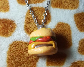 Cheeseburger Pendant