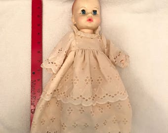 Vintage 1971 Ideal Toy Company Baby Doll
