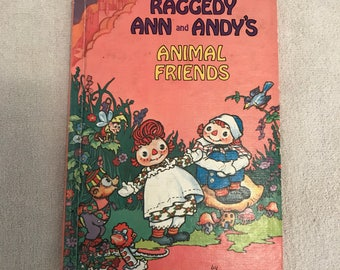 Vintage Raggedy Ann And Andy Storybook