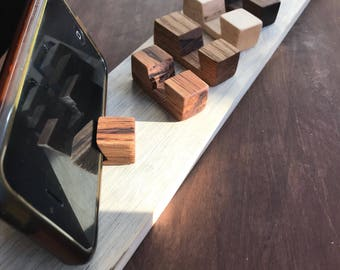 Pocket Wood Cell Phone Stand