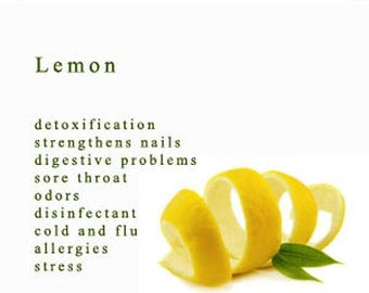 End of Summer CLEARANCE 8 oz 100% Pure Lemon Essential Oil