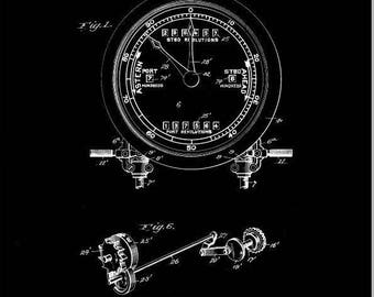 Logometer Patent #1663211 dated May 20, 1920.