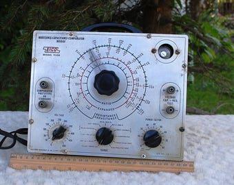 1965 EICO Model 950B Capacitor, Resistor Bridge Tester