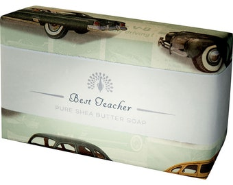 Best Teacher Shea Butter Pure Indulgence Soaps Bath Soap-200g- Ideal Gift For -Mom- Her- or Just For You